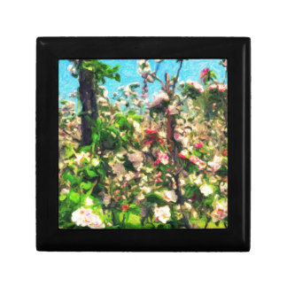 Apple Blossom Oil Painting Gift Box
