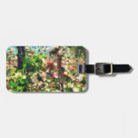 Apple Blossom Oil Painting Tags For Bags