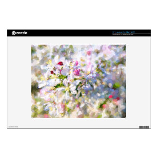 Apple Blossom Painting Laptop Decals