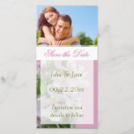 """Apple Blossom/photo  &quot;Save the Date&quot; Save The Date<br><div class=""""desc"""">An pretty apple blossom  with editable text and photo</div>"""
