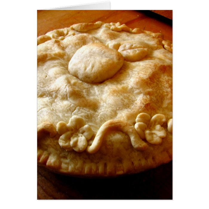 Apple Blossom Pie Card