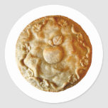 Apple Blossom Pie Classic Round Sticker