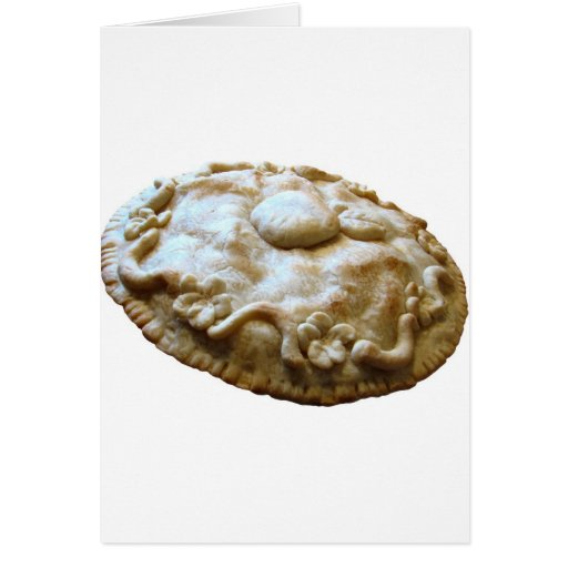 Apple Blossom Pie Greeting Card
