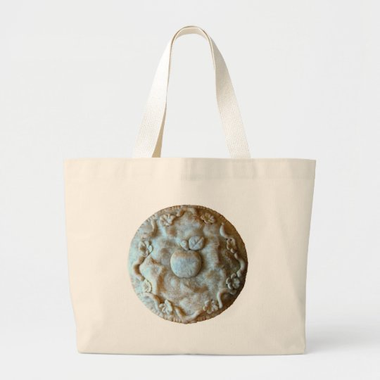 Apple Blossom Pie Large Tote Bag