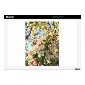 "Apple Blossom Sunshine 17"" Laptop Skins"