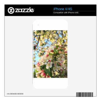 Apple Blossom Sunshine iPhone 4S Skin