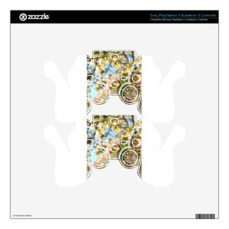 Apple Blossom Sunshine PS3 Controller Decal