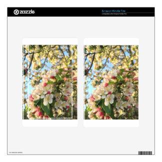 Apple Blossom Sunshine Skin For Kindle Fire