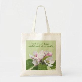 Apple blossom thank you bag