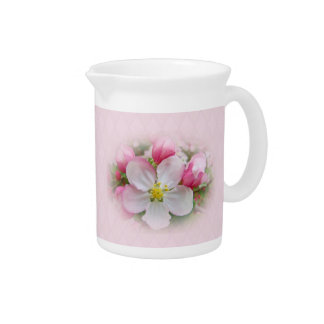Apple Blossom Time Drink Pitcher
