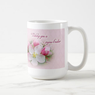 joyous unique coffee mug. Apple Blossom Time  Joyous Easter Coffee Mug Travel Mugs Zazzle