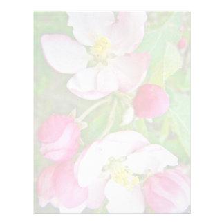 Apple Blossom Time Letterhead