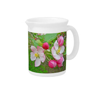 Apple Blossom Time Pitchers