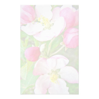 Apple Blossom Time Stationery