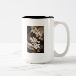 Apple Blossom Two-Tone Coffee Mug