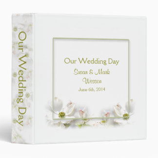 APPLE BLOSSOM WEDDING COLLECTION - BINDER
