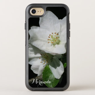 Apple Blossom - with Name or Text - OtterBox Symmetry iPhone 7 Case