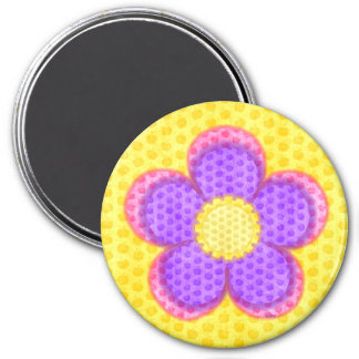 Apple Blossoms 3 Inch Round Magnet