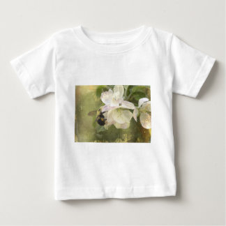 Apple Blossoms and Bumblebee Baby T-Shirt