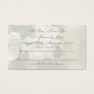 Apple Blossoms and Bumblebee Business Card