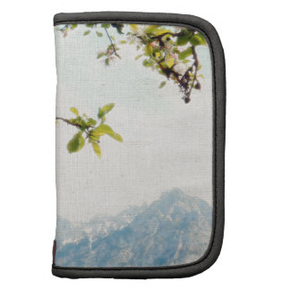 Apple Blossoms and Mountains Folio Planners
