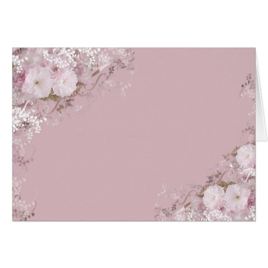 Apple Blossoms Card