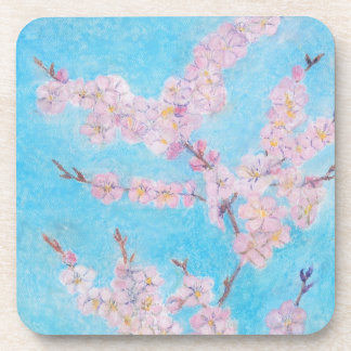 Apple Blossoms Drink Coaster