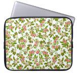 Apple Blossoms Floral Electronics Bag Laptop Computer Sleeve