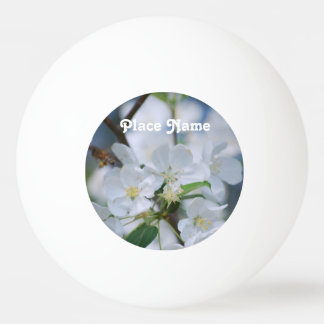 Apple Blossoms Ping-Pong Ball