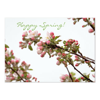 Apple Blossoms in Spring Card
