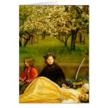 Apple Blossoms Spring Fine Art Greeting Card