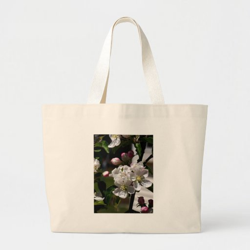 Apple Blossoms Tote Bags