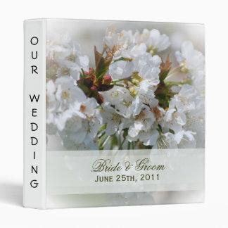Apple Blossoms Wedding Binder