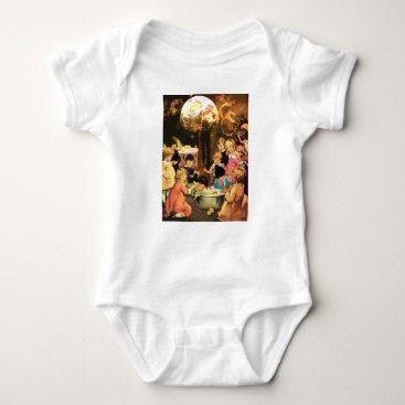 Halloween Themed APPLE BOBBINGTIME! BABY BODYSUIT