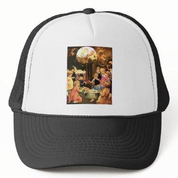 Halloween Themed APPLE BOBBINGTIME! TRUCKER HAT
