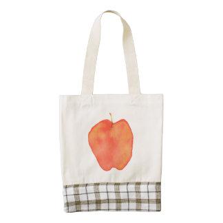 Apple Bolsa Tote Zazzle HEART