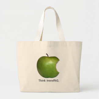 Apple Bolsas Lienzo