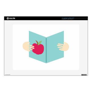 Apple Book Laptop Skin