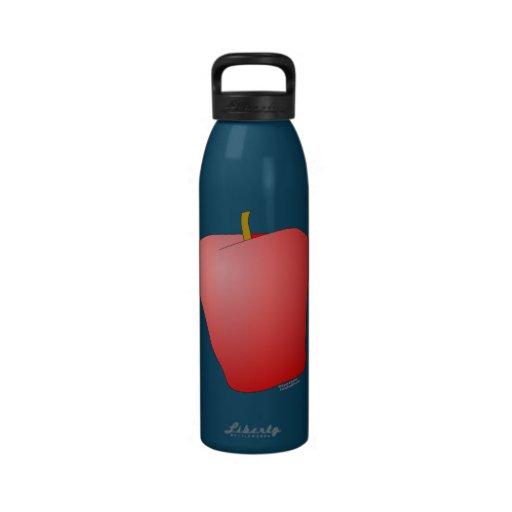 Apple Botella De Agua Reutilizable
