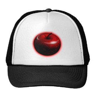 Apple brillante rojo - fruta prohibida gorra