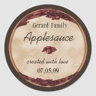 apple canning label 1