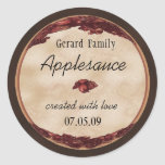 apple canning label 1 sticker