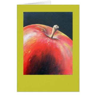 Apple carda tarjeton