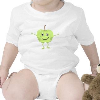 Apple cartoon character baby creeper