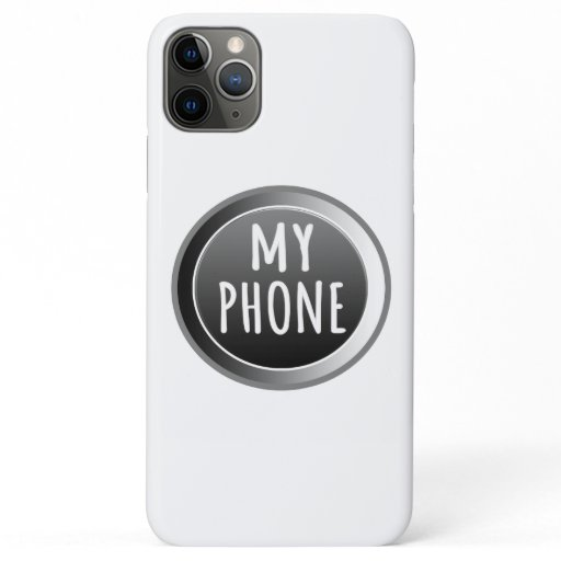 Apple Case for iPhone 11 Pro Max My Phone Logo