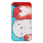 Apple Case for your ipod with Guinea pigs iPhone 4 Cover