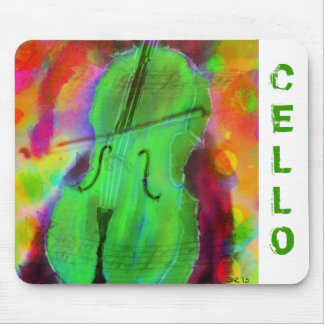 Apple Cello Mouse Pad