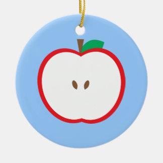 Apple Ceramic Ornament
