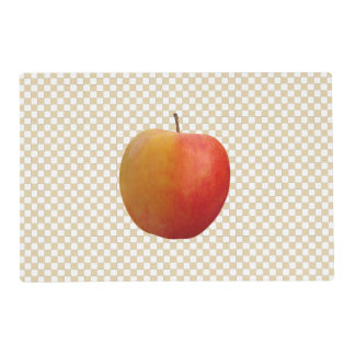 Apple Checkers.... Select you own colors Placemat