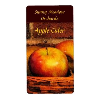 Apple Cider Labels